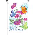 Butterfly Trio: Garden Flag