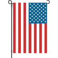 U S A  Flag: Garden Flag
