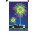 Fireworks Fantasy: Garden Flag