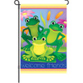 Garden Frogs: Garden Flag
