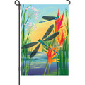 Damselfly: Garden Flag