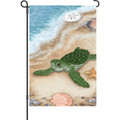 Born Free ( Turtle ) : Garden Flag