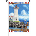 Nautical Lighthouse: Garden Flag