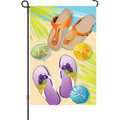 Summer living: Garden Flag