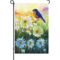 Bluebird at Sunrise: Garden Flag