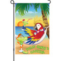 Polly Wants a Cocktail: Garden Flag