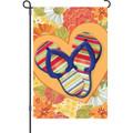 I Love Flip Flops: Garden Flag