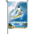 Surfing Safari  (Penguin ): Garden Flag