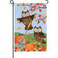 Autumn Owls: Garden Flag