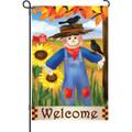 Harvest Scarecrow: Garden Flag