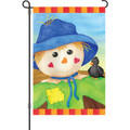 Hearty Scarecrow: Garden Flag