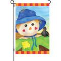 Hearty Scarecrow: Garden Flag