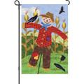 Welcome Scarecrow: Garden Flag