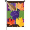 Jazzy Leaves: Garden Flag