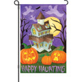 Happy Haunting: Garden Flag