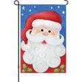 Jolly Santa: Garden Flag