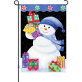 Snowman Presents: Garden Flag
