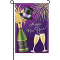 New Year Cheers: Garden Flag