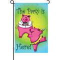Party Pigs: Garden Flag