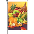 Colorful Cornucopia: Garden Flag