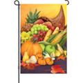 Colorful Cornucopia: Garden Flag