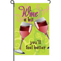 Wine A Bit: Garden Flag