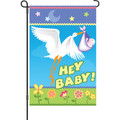 Here Comes My Baby: Garden Flag