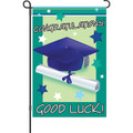 Good Luck Graduate: Garden Flag