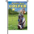 World's Best Golfer: Garden Flag