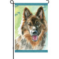 Loyal Shepherd: Garden Flag