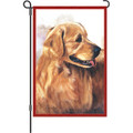 Golden Retriever: Garden Flag