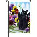 Flower Kitten: Garden Flag