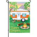 Happy Campers: Garden Flag
