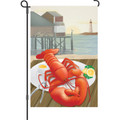 Lobster Catch: Garden Flag