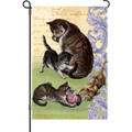 Feline Family (Cat): Garden Flag