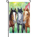 Pasture Friends (Horse) : Garden Flag