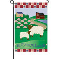 Bless Our Home (Sheep) : Garden Flag