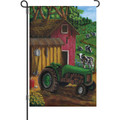 Tractor On the Farm Cows) : Garden Flag