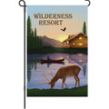 Wilderness Resort (Deer): Garden Flag