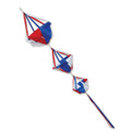 Patriotic  Small Spinnies  ,  Wind Spinsocks & Spinnies