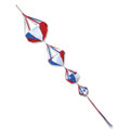 Patriotic  Deluxe Spinnies  ,  Wind Spinsocks & Spinnies