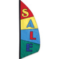 Sale Feather Banner (Block)  3.5ft :  Commercial Displays