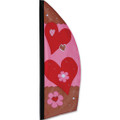 Valentine's Day  8.5ft :  Prestige Feather Banner