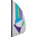 Pastel Prizm   3.5 ft Feather Banner
