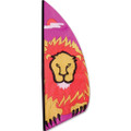 Lion  3.5 ft Feather Banner