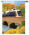 B & O Autumn Train : Illuminated