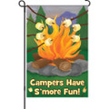 S'More Fun   :   Garden Flag