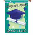 Good Luck Graduate: Brilliance Flag
