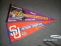 S U National Championship Banners 2003