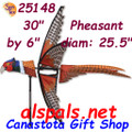 "Pheasant 30"" Bird Spinners (25148)"
